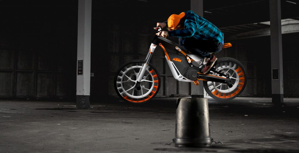 Stunt Bike KTM Transportation Design